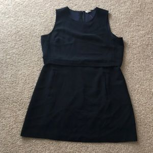 Navy blue professional dress from Maison Jules.